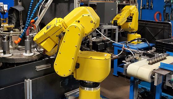 NEW ROBOTIC LINE AUTOMATES IHT PROCESSES
